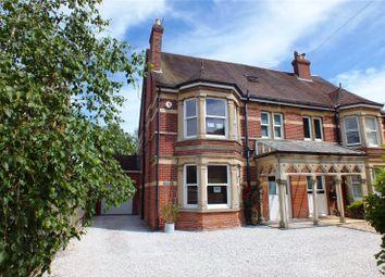 Basingstoke Road, Spencers Wood, Berkshire RG7. 4 bed semi-detached house