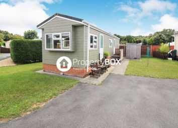 Thumbnail 2 bed mobile/park home for sale in Dibles Park, Dibles Road, Warsash, Southampton