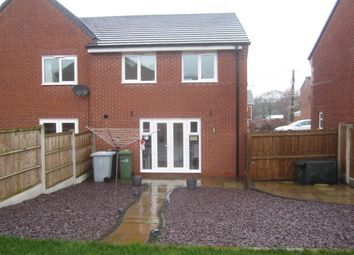 Thumbnail 3 bed semi-detached house for sale in Apple Drive, Shavington, Crewe