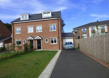 Thumbnail 3 bedroom semi-detached house for sale in Lawson Close, Newcastle Upon Tyne