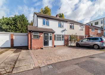 Thumbnail 3 bed semi-detached house for sale in Shalcross Drive, Waltham Cross, Hertfordshire