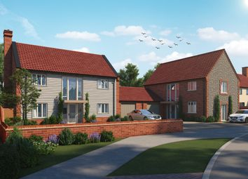 Thumbnail 3 bed link-detached house for sale in Holt Road, 2 Canon Marcon Way, Edgefield, Melton Constable