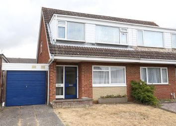 Thumbnail 3 bed semi-detached house for sale in Fernie Way, Wellingborough