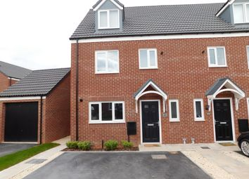 Thumbnail 4 bed semi-detached house to rent in Skylark Way, Clipstone Village, Mansfield