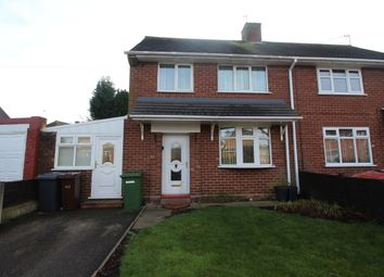 Thumbnail 3 bed semi-detached house to rent in Baylis Avenue, Wednesfield, Wolverhampton