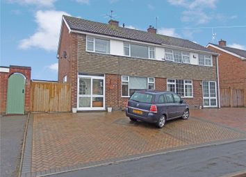 Thumbnail 3 bed semi-detached house for sale in Fieldcourt Road, Groby, Leicester, Leicestershire