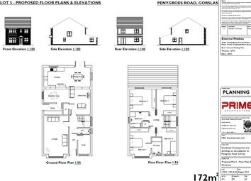 Thumbnail 4 bed detached house for sale in Penygroes Road, Gorslas, Llanelli