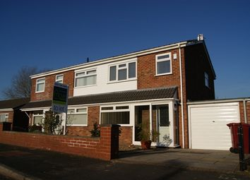 Thumbnail 3 bed semi-detached house to rent in Carlyon Way, Halewood, Liverpool