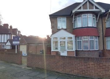 Thumbnail 4 bed semi-detached house to rent in Greencroft Road, Heston