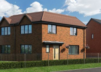 "Thumbnail 3 bed property for sale in ""The Moulton At Lakeside At Bridgewater Gardens"" at The Barge, Castlefields Avenue East, Runcorn"