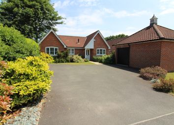 Thumbnail 3 bed detached bungalow for sale in New Road, Fritton, Great Yarmouth
