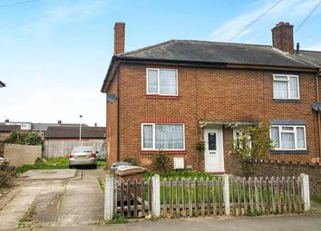 Thumbnail 2 bedroom end terrace house for sale in Trent Road, Luton