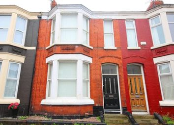Thumbnail 4 bed terraced house for sale in Errol Street, Aigburth, Liverpool