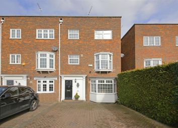 Thumbnail 5 bed mews house for sale in Berkeley Close, Elstree, Borehamwood