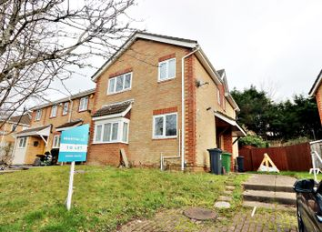Thumbnail 2 bed link-detached house to rent in Heol Y Carw, Thornhill, Cardiff