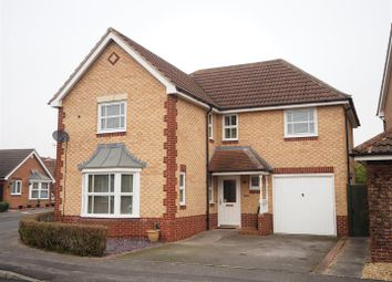 Thumbnail 4 bed detached house for sale in Adwalton Close, Newark