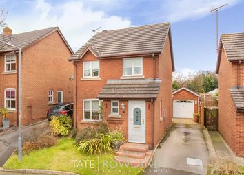 Thumbnail 3 bed detached house for sale in Kestrel Close, Connah's Quay, Deeside