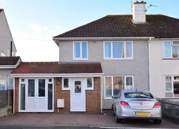 Thumbnail 3 bed semi-detached house for sale in Derby Road, Shepway, Maidstone., Kent