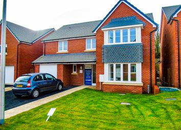 Thumbnail 4 bedroom detached house for sale in St Lythans Park, Old Port Road, Cardiff