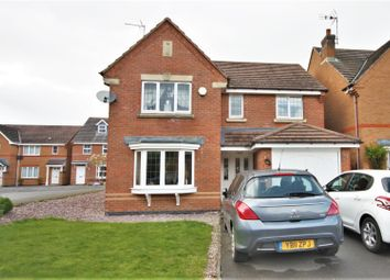 Thumbnail 4 bed detached house for sale in Hampton Close, Coalville