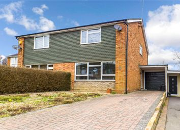 Thumbnail 3 bed semi-detached house for sale in Salmon Close, Spencers Wood, Reading, Berkshire