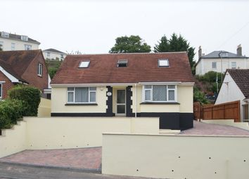 Thumbnail 4 bed detached bungalow for sale in Blatchcombe Road, Paignton