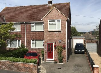 Thumbnail 3 bed semi-detached house for sale in Croft Road, Newbury