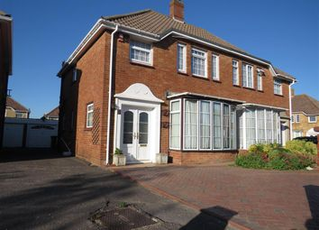 Thumbnail 3 bed semi-detached house for sale in Mark Close, Portsmouth