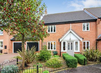 Thumbnail 3 bedroom end terrace house for sale in Blackthorn Way, Poringland, Norwich