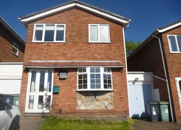 Thumbnail 3 bedroom property to rent in Martingale Close, Walsall