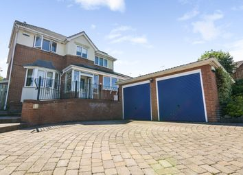 Thumbnail 5 bed detached house for sale in Cheviot Avenue, Codnor Park
