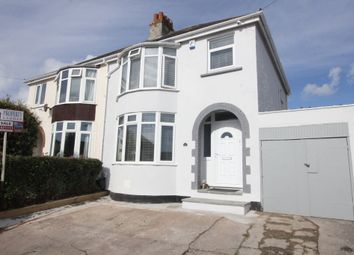 Thumbnail 3 bed semi-detached house for sale in Redburn Close, Paignton