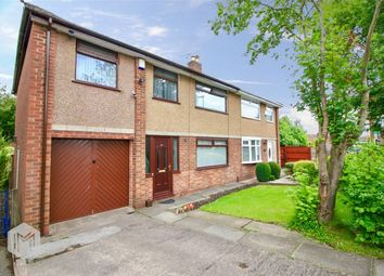 Thumbnail 4 bed semi-detached house for sale in Queens Close, Worsley, Manchester, Lancashire