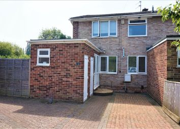 Thumbnail 3 bedroom end terrace house for sale in York Close, Newbury