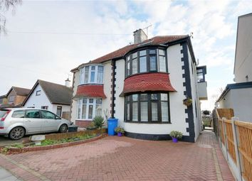 Thumbnail 4 bed semi-detached house for sale in Scarborough Drive, Leigh, Essex