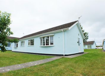 Thumbnail 2 bed semi-detached bungalow for sale in Gower Holiday Village, Scurlage
