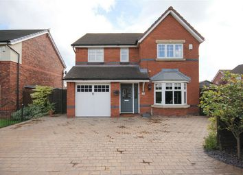 Thumbnail 4 bed detached house for sale in Chetwood Close, Newton-Le-Willows