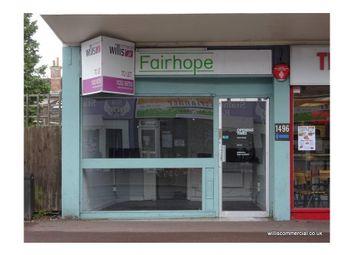 Thumbnail Retail premises to let in 1496 Wimborne Road, Kinson