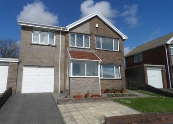 Thumbnail 4 bed link-detached house for sale in Landor Avenue, Killay, Swansea