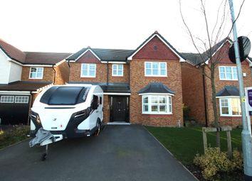 Thumbnail 4 bedroom detached house for sale in Sanderling Way, Wesham, Preston