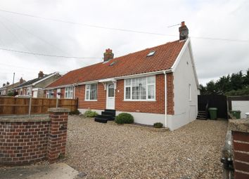 Thumbnail 3 bedroom semi-detached bungalow to rent in Beaumont Road, New Costessey, Norwich