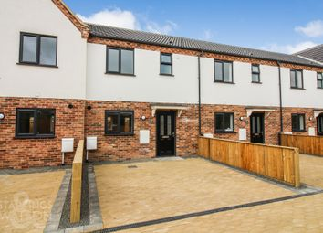 Thumbnail 3 bed terraced house for sale in Rumbold Close, Southtown Road, Great Yarmouth