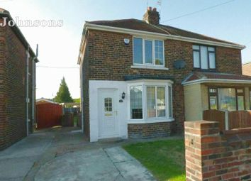 Thumbnail 2 bed semi-detached house for sale in Tennyson Avenue, Sprotbrough, Doncaster.