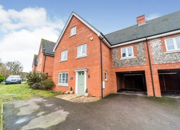 Thumbnail 5 bed link-detached house for sale in Maine Street, Thetford