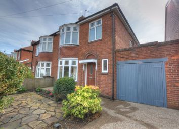 Thumbnail 3 bed semi-detached house for sale in Lindale Road, Fenham, Newcastle Upon Tyne