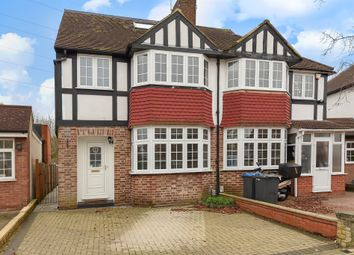 Thumbnail 4 bed semi-detached house for sale in Bargate Close, New Malden