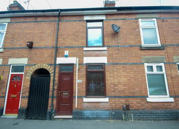 Thumbnail 2 bed terraced house for sale in Stockbrook Road, Derby
