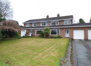 Thumbnail 3 bed semi-detached house for sale in Weaste Lane, Thelwall, Warrington, Cheshire