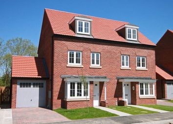 "Thumbnail 4 bed semi-detached house for sale in ""Woodcote"" at Lee Lane, Royston, Barnsley"