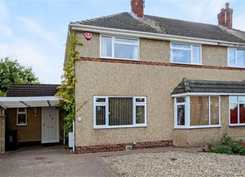 Thumbnail 3 bed semi-detached house for sale in Highclere Avenue, Lawn, Swindon